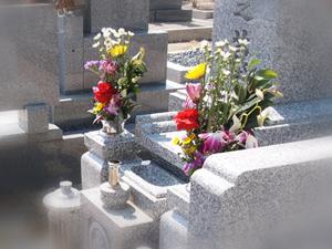 納骨式のお供えのお花
