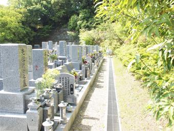 お墓の文字彫り前の墓地確認