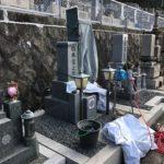 東大阪石切霊園でお墓の文字彫り