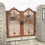 大阪市淀川区 十八条墓地 文字彫り