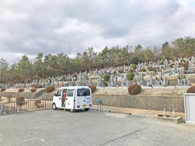 宝塚市営長尾山霊園でお墓の文字彫り