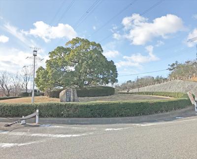 宝塚市営長尾山霊園の入り口