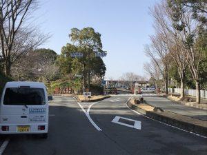 神戸市西神墓園で文字彫刻