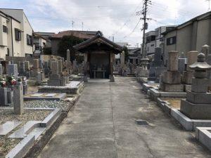 荒川・永和共同墓地で追加彫刻
