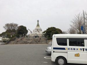 姫路市名古山霊苑で追加彫り