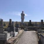 京田辺市南山東墓地でお墓の文字彫り