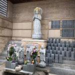 明石市浄蓮寺で文字彫り