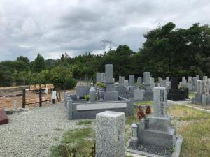 川西市多田横山霊園でお墓の文字彫り