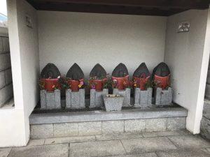 佐保川霊苑で追加彫り