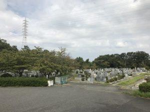 舞子墓園で追加彫り