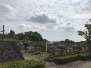 西神墓園 17区で追加彫り