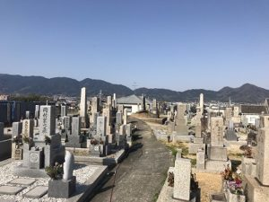 奈良県大和高田市の五ケ大字墓地で追加彫りです