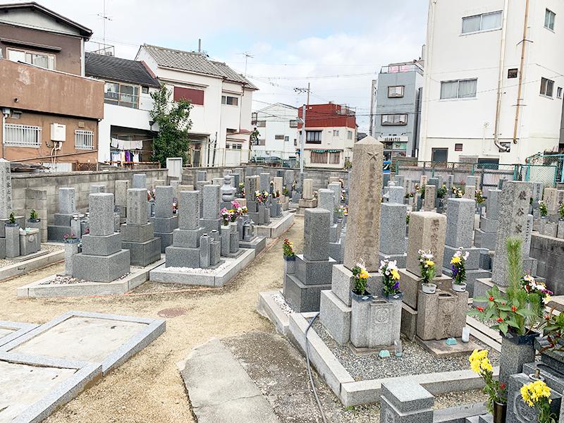 【大阪市東成区の大今里墓地】お墓への文字・戒名彫刻費用について