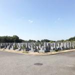 明石市石が谷墓園の風景
