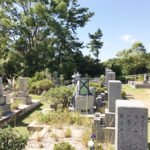 神戸市舞子墓園での名前彫刻